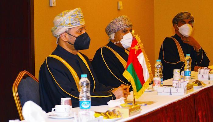 Oman, India ministers meet in Tehran