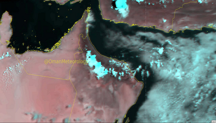 Thunderstorms predicted in parts of Oman