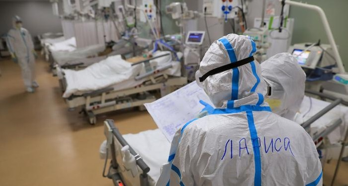 Nine COVID-19 patients die in Russia due to oxygen malfunction