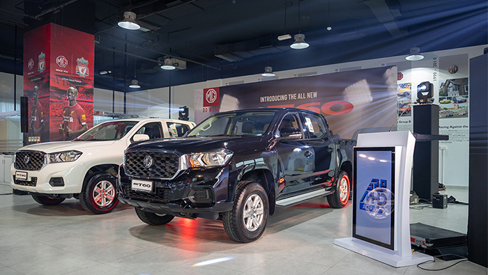 MG Motor launches its first-ever pickup truck MG T60 in Oman