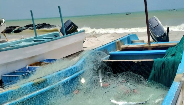 Illegal fishing boats, nets seized in Oman