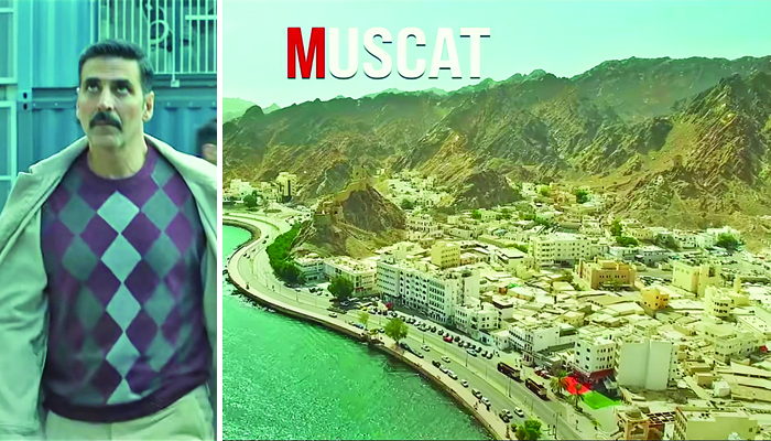 Scenes from Muscat in new Bollywood flick