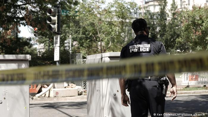 US Capitol bomb suspect surrenders to authorities