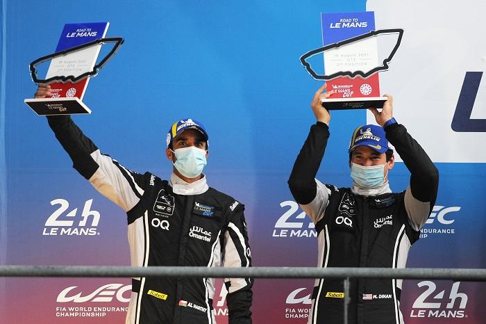 Ahmad Al Harthy and Michael Dinan take fantastic P2 finish at Le Mans