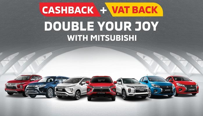 Double your joy with Mitsubishi