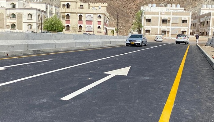 Street to enter and exit Darsait in Muttrah now open