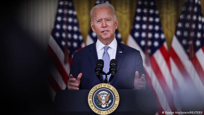 'I don't trust anybody': Biden when asked if he believes Taliban