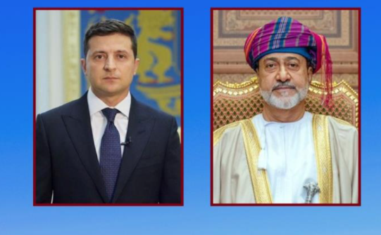 جلالة السلطان يُهنئ الرئيس الأوكراني