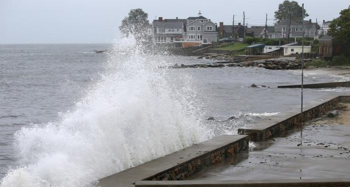 Tropical Storm Henri makes landfall in Rhode Island