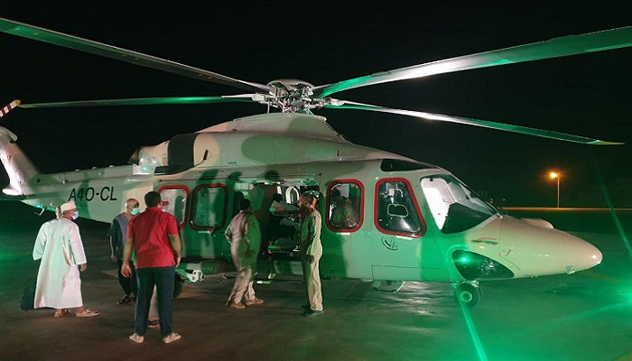 ROP airlifts accident victim in Oman