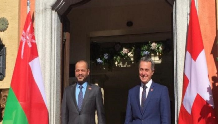 Oman's Foreign Minister meets Swiss counterpart