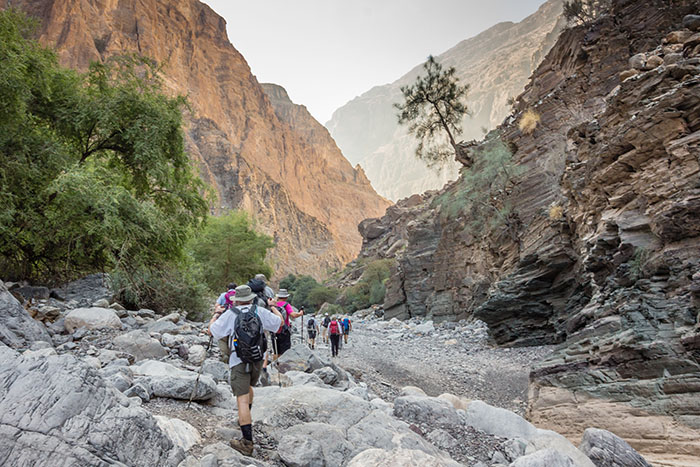 This weekend hit the hiking trails of Oman