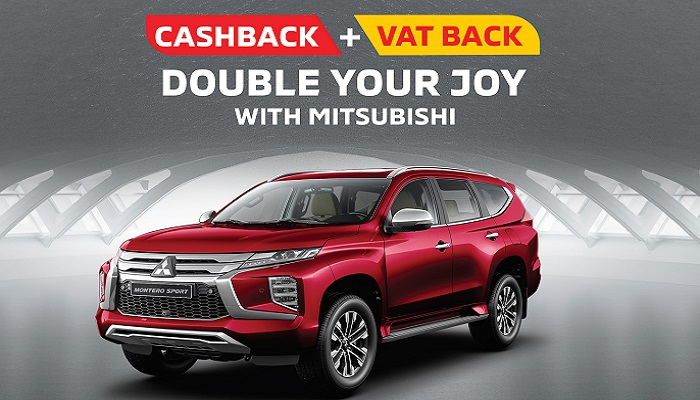 Double your Joy with a Brand-New Mitsubishi Montero Sport