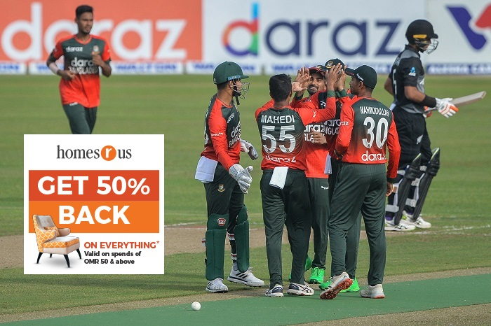 Mustafizur defends 20 in final over as hosts win 2nd T20I