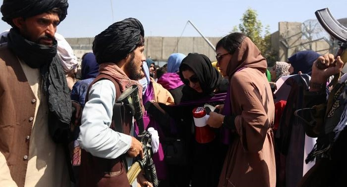 Afghan woman activist beaten up by Taliban as protest turns violent in Kabul