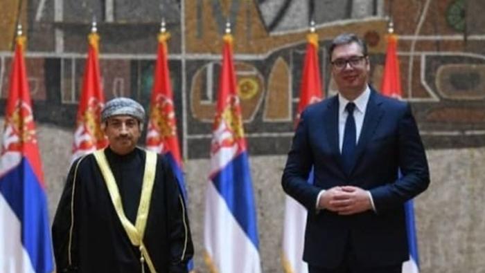 Oman's ambassador to Serbia presents his credentials