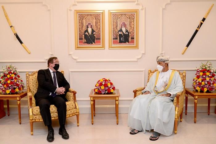 Sayyid Shihab bids farewell to UK Ambassador