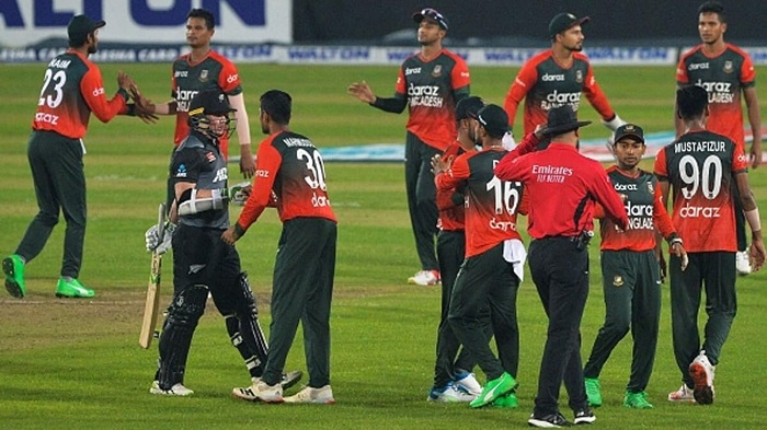 Bangladesh clinch first-ever T20 series win against New Zealand
