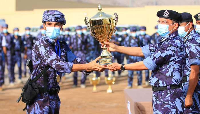 Nizwa Special Task Force lifts ROP Obstacle Course Championship
