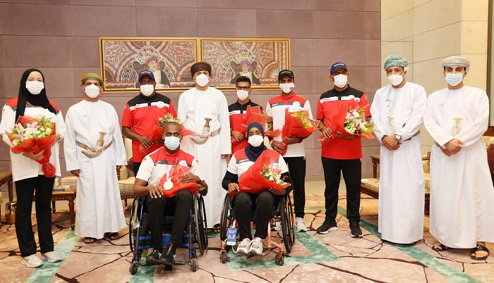 Al Mashaykhi, Oman's Paralympic delegation return to grand welcome