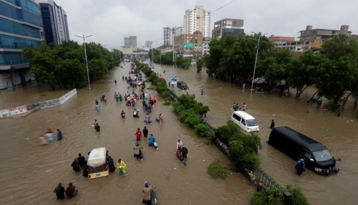 وفاة 14 شخصًا جراء الأمطار الغزيرة في باكستان