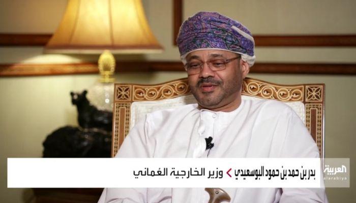 البوسعيدي يؤكد: ضرورة احترام الملاحة في مضيق هرمز وآفاق لحل الأزمة اليمنية
