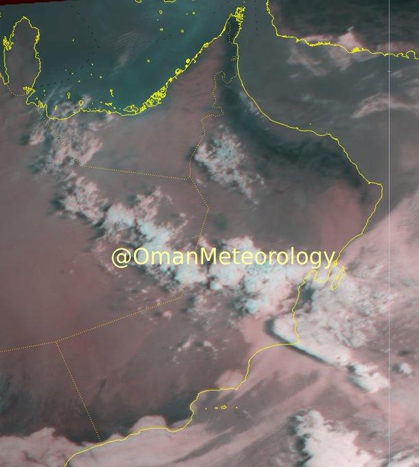 الطقس: رذاذ قي ظفار و أمطار على جبال الحجر
