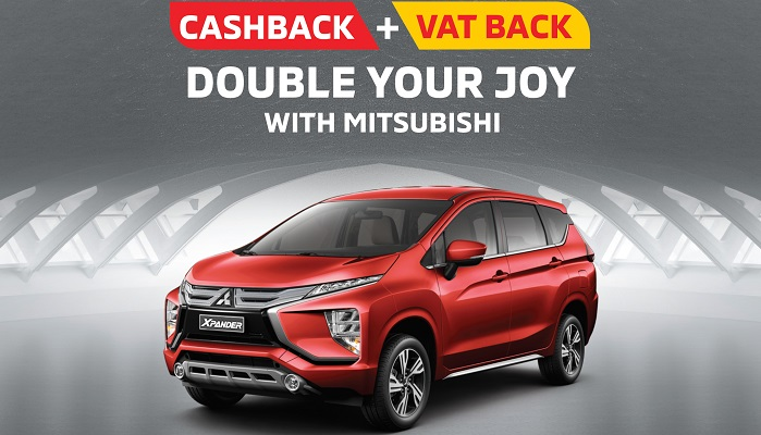 Double your joy with the trendy and dynamic Mitsubishi Xpander