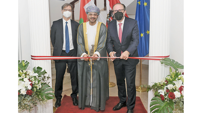New premises of Austrian Embassy in Muscat opens