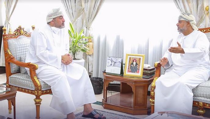 Ministry of Culture Undersecretary meets Oman's Ambassador to Italy