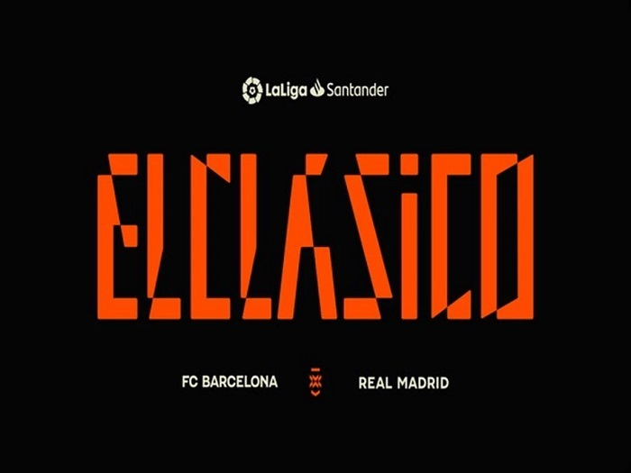 La Liga reveals new El Clasico brand identity