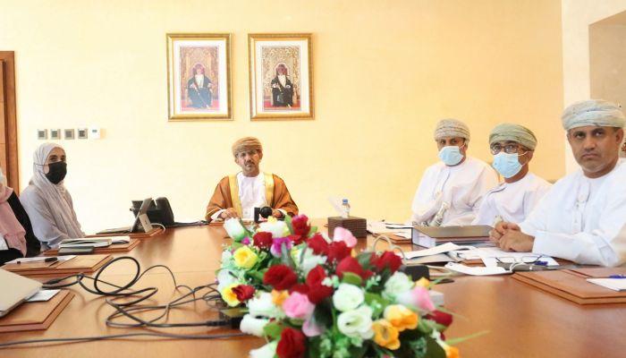 الاجتماع التحضيري للاجتماع الــ 21  للجنة وزراء التعليم العالي والبحث العلمي الخليجي
