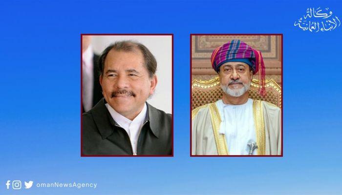 جلالةُ السُّلطان يهنّئ رئيس جمهورية نيكاراجـوا
