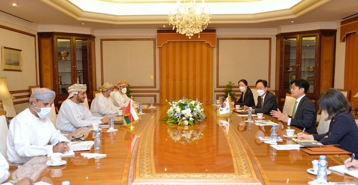 Oman, Korea pledge to boost joint cooperation