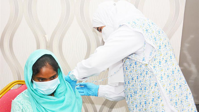 Interval between doses of vaccine cut to four weeks in Oman