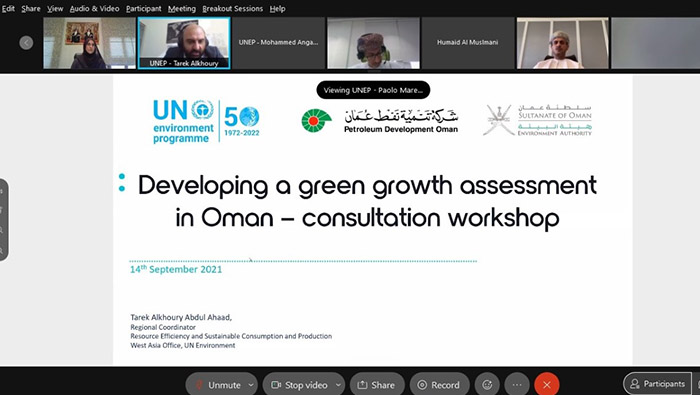 Spotlight on roadmap of green economy in Oman