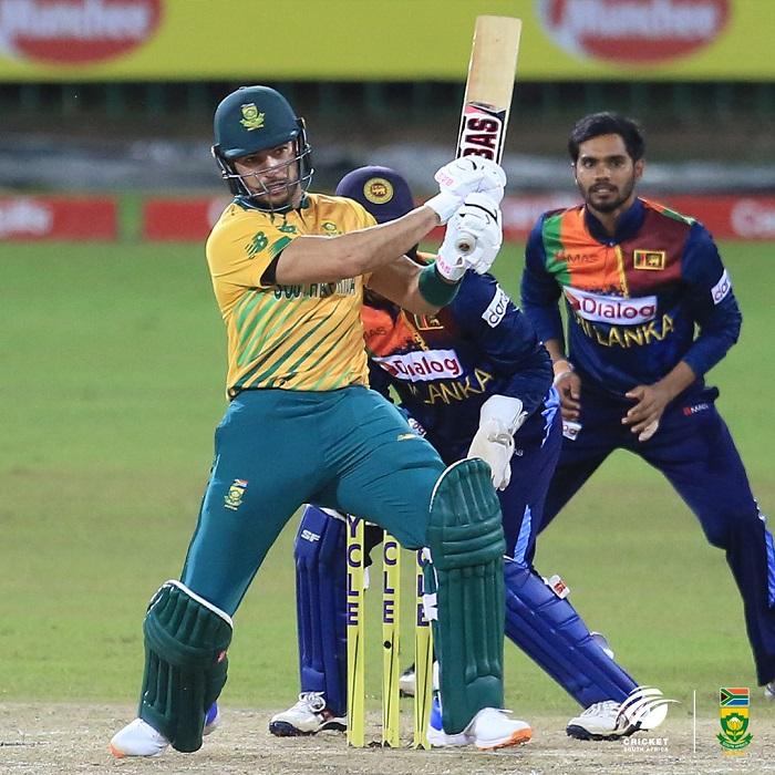 Dominant South Africa clean sweep Sri Lanka 3-0 in T20I series