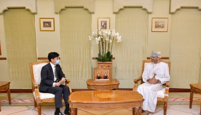 Minister meets South Korean Vice Minister of Foreign Affairs