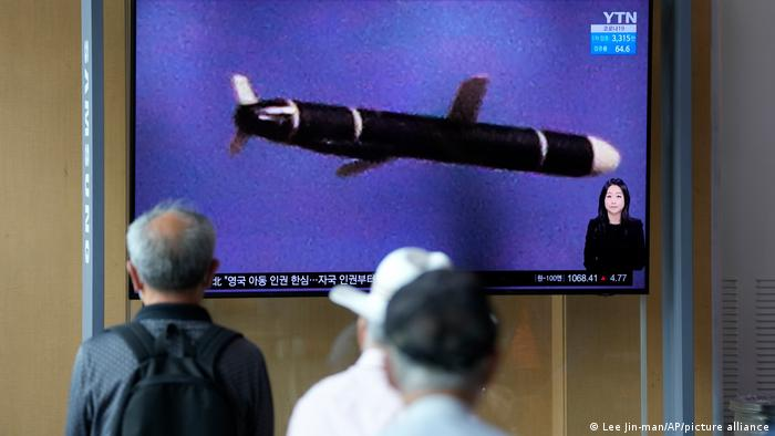 North, South Korea test missiles amid rising tensions