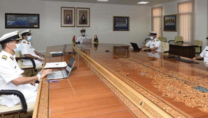 قائد البحرية السلطانية يشارك في ندوة دولية