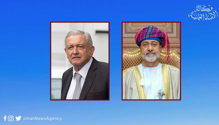 His Majesty the Sultan greets President of Mexico