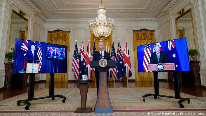 US, UK and Australia announce Indo-Pacific defence partnership