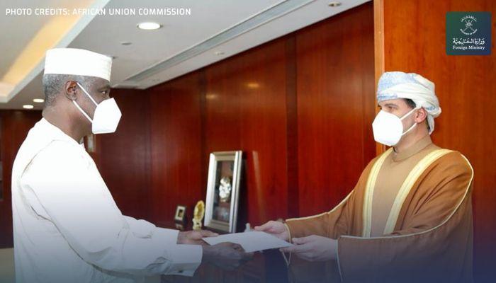 القائم بأعمال سفارتنا في أثيوبيا يقدم أوراق اعتماده كمندوب مراقب بالإتحاد الأفريقي