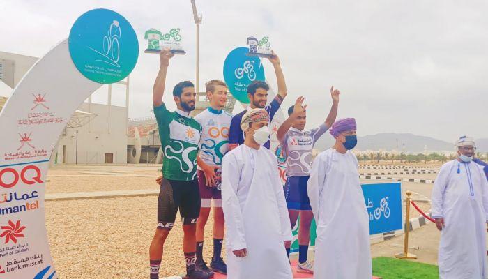 نجاح كبير يشهده طواف صلالة للدراجات الهوائية بمشاركة ١١٠ دراج