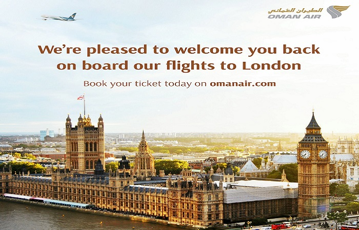 Oman Air to operate flights to London