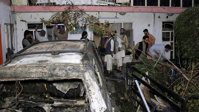 US admits Kabul drone strike mistakenly killed civilians