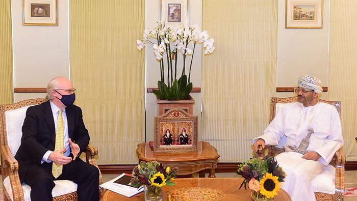 Sayyid Badr receives US Special Envoy for Yemen