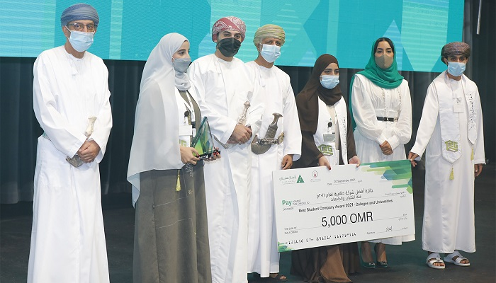 Injaz Oman announces names of winners in 'Student Company' programme and competition