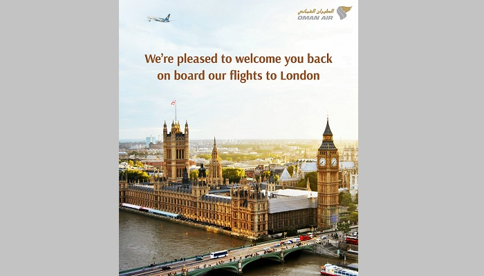 Oman Air all set to resume thrice a week service to London