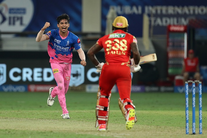 IPL 2021: Kartik Tyagi hands Royals a sensational last over win